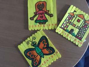 Playful life with kids Teaching Numbers 1 to 10 using Popsicle Sticks 7