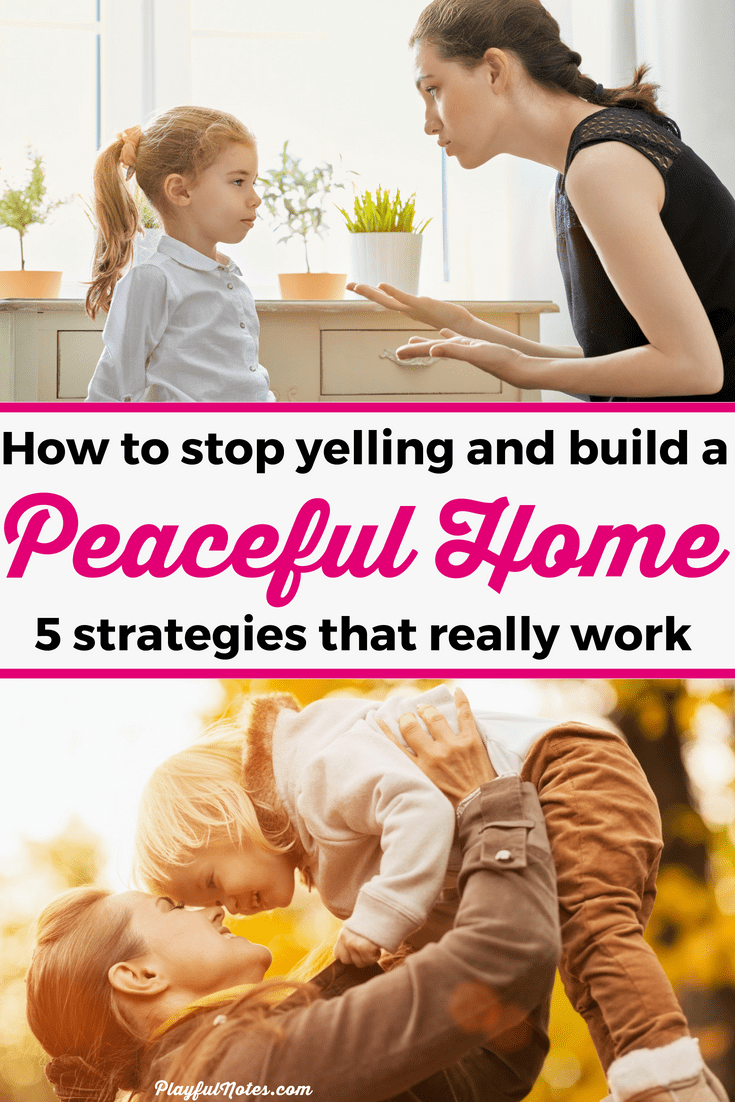 Do you want to stop yelling at kids and build a peaceful and positive home? Here are 5 easy and effective strategies that can really make a difference! They helped me a lot and can help you too! | How to stop yelling at your kids | Gentle parenting #PositiveParenting #ParentingTips