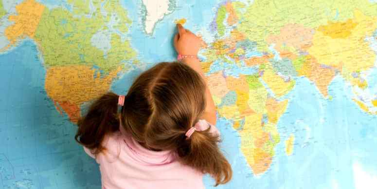 toys and materials for teaching young kids about the world