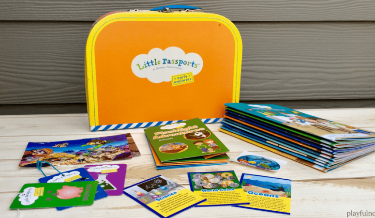 Everything you need to know about the Little Passports subscription box