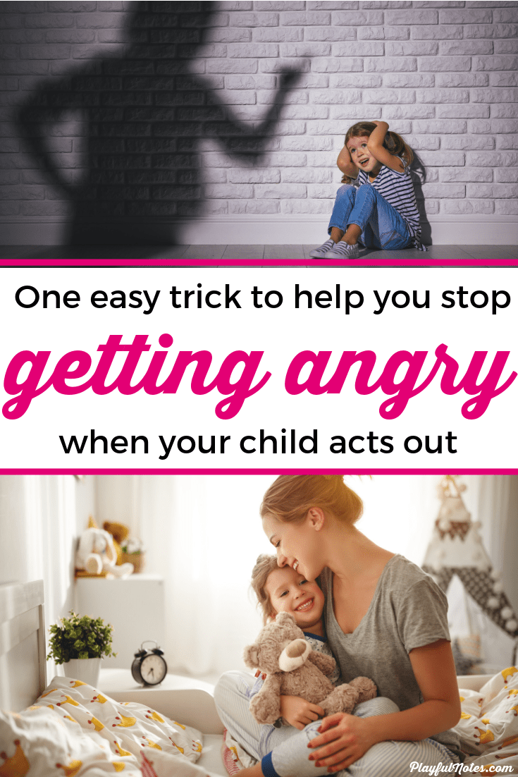 If you ever feel like an angry mom, this post can offer you an easy strategy to help you stay calm even when your child acts out. It helped me learn how to become a calm mom and gave me an easy strategy to use to manage anger in motherhood. --- How to be a calm mom | Advice for moms | Motherhood tips | How to stop being an angry mother #Parenting #AdviceForMoms #MotherhoodTips