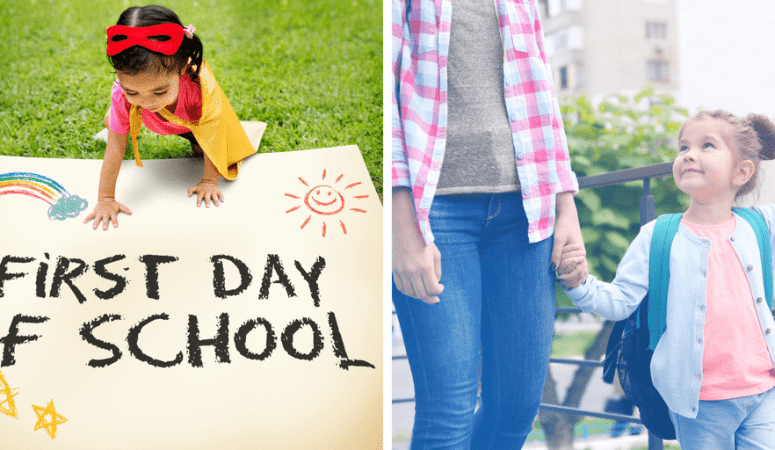 7 lovely first day of school traditions to try this year {+ printable interview for kids}