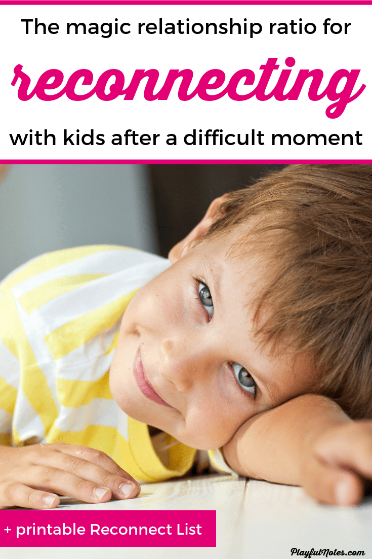 If you ever wondered how to reconnect with your child after a difficult moment and repair the relationship, here is a proven way to rebuild the connection. This method is backed by science and it can help you be a better parent. --- How to connect with kids | Connection ideas | Connecting with kids | Positive parenting tips #ParentingTips