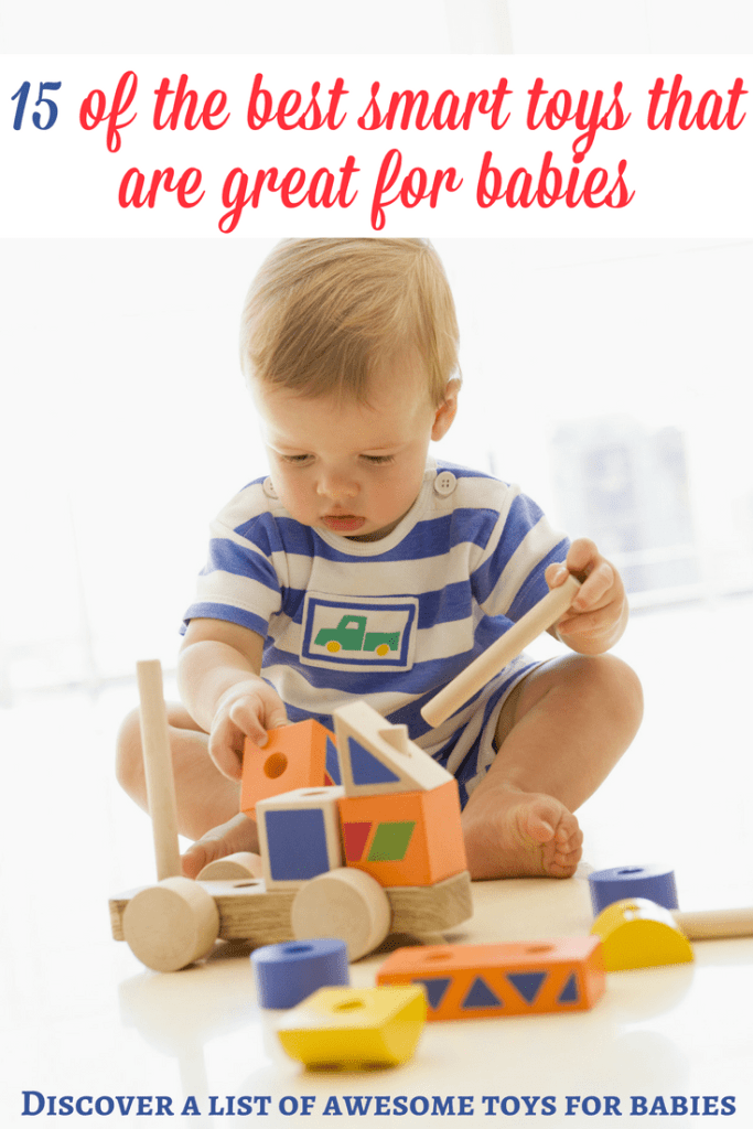 Toys for babies: If you are looking for some smart toys for babies, here is a list of our favorite recommendations! They are awesome and I hope that they will inspire you! | Toys for babies | Gift guide for baby | Christmas gifts