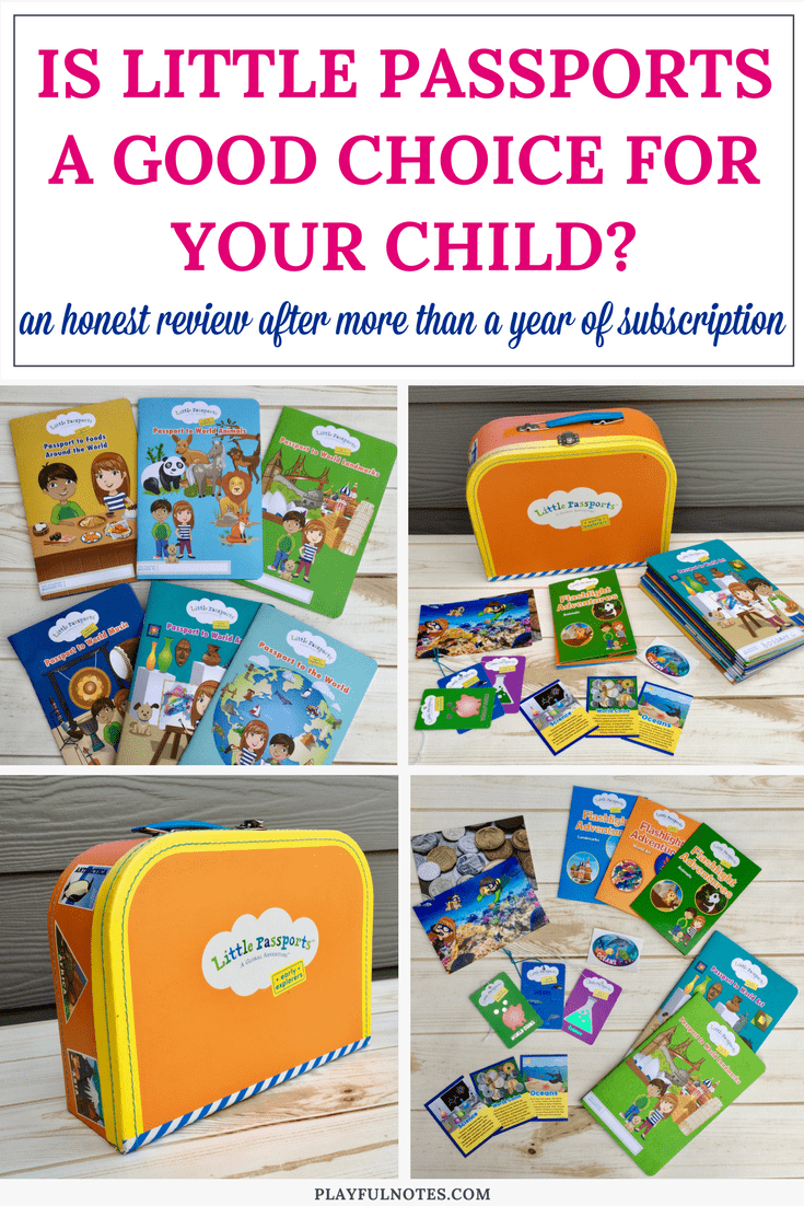 An honest Little Passports review: Everything that you need to know about the Little Passports subscription box from a mom who used the monthly Early Explorers boxes for more than a year. | Little Passports boxes | Teaching kids about the world #LittlePassports