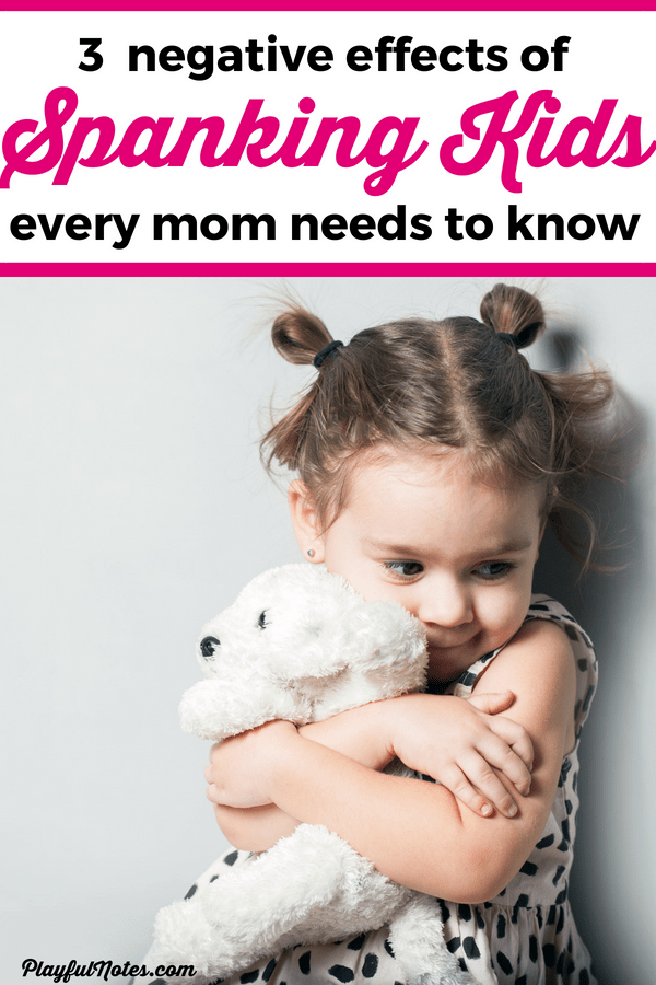 If you ever considered using physical punishments to discipline your kids, you need to read this! This list of negative effects will make you think twice about spanking kids and using any other physical punishments. --- Positive discipline | Gentle parenting tips | Parenting advice #RaisingKids #PositiveParenting