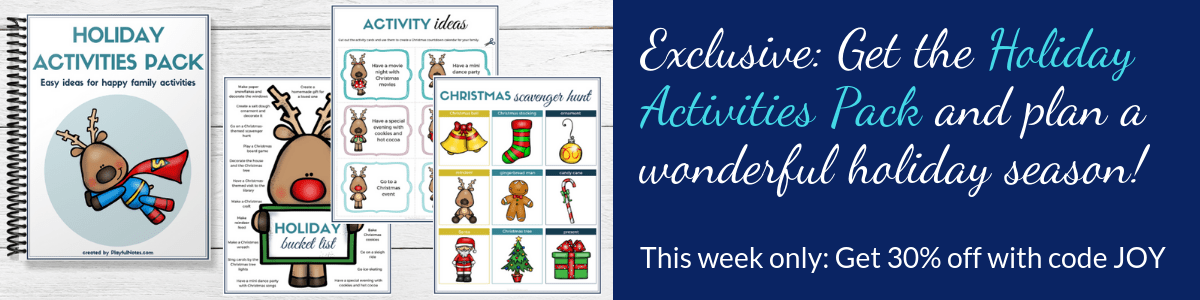 holiday activities pack