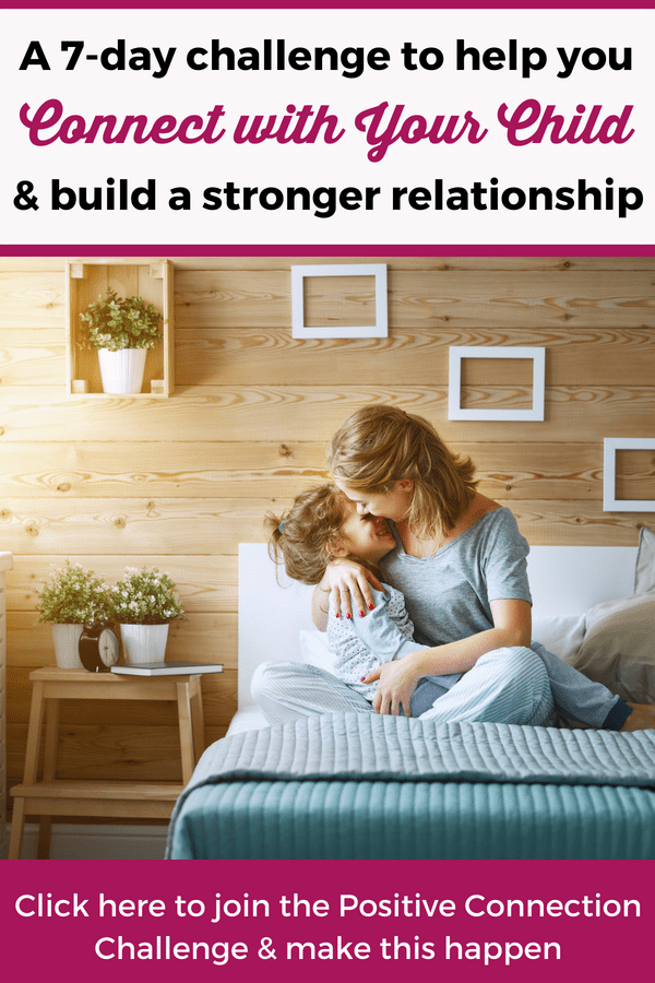 Building a strong connection with the kids is the best way to build a happy and peaceful family! Join the Positive Connection Challenge and get the best tips that will help you build a strong relationship with your kids! --- Positive parenting tips | Connecting with kids | Gentle parenting #ParentingTips