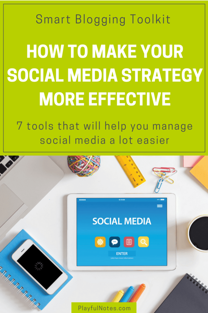 Social media management tools: Discover 7 tools that can help you manage your social media accounts a lot easier and reach a wider audience. | Blogging tips | Social media tips #Blogging