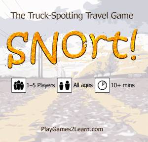 PlayGames2Learn.com - Snort! The Trucks-Spotting Travel Game