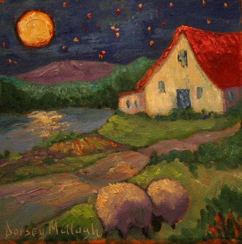 Yes and your nights too a new painting by Dorsey McHugh