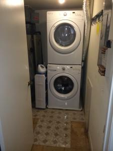 Ta-da! Washer and Dryer!