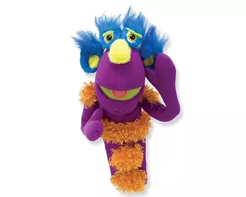 Melissa & Doug Make-Your-Own Monster Puppet Kit 30 Pieces, Great Gift for Girls and Boys