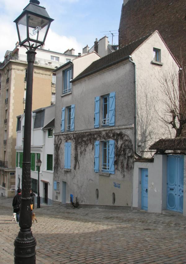 Parisian Blue, in Montmartre