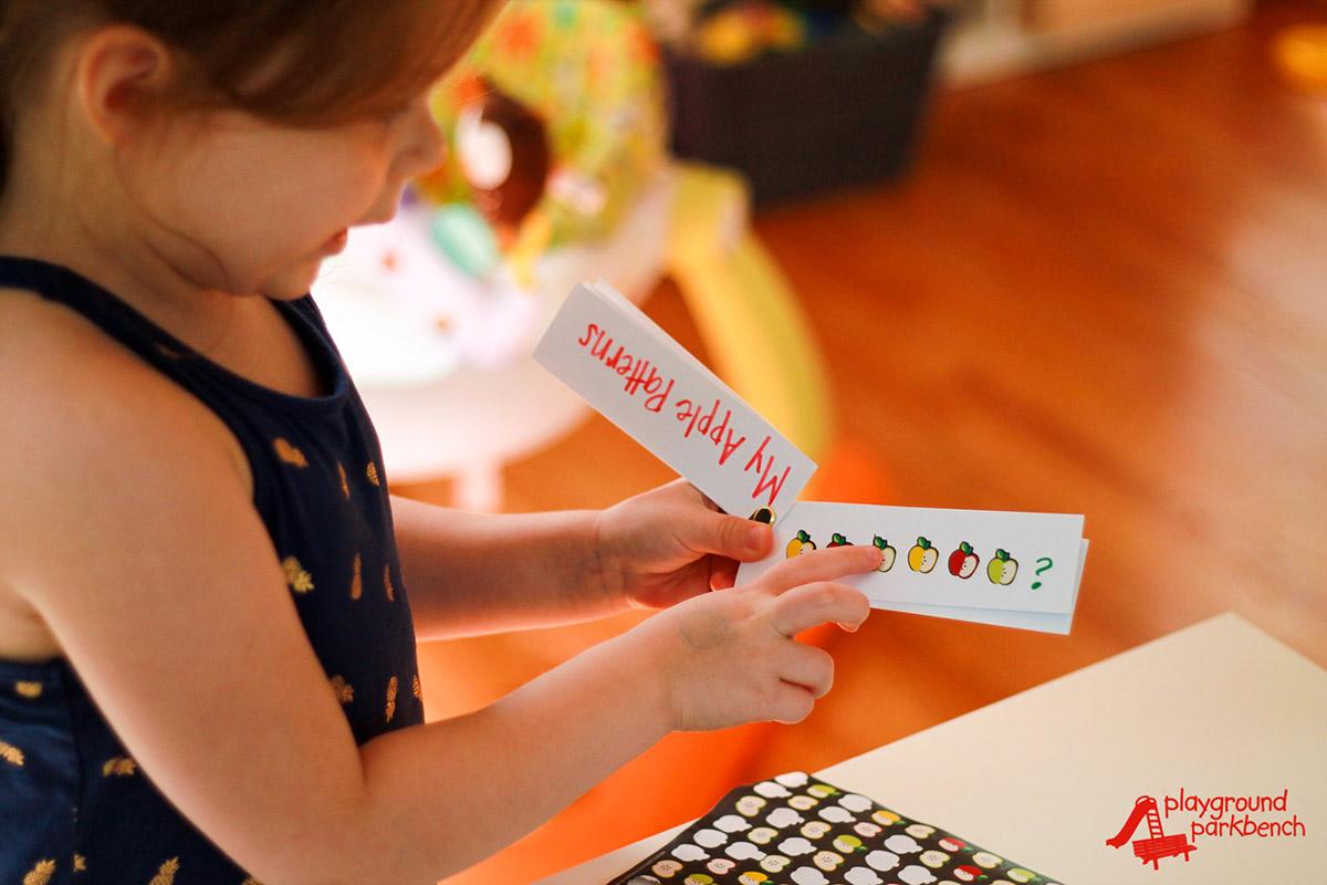 Stem Preschool Activities For Fall Apple Patterns