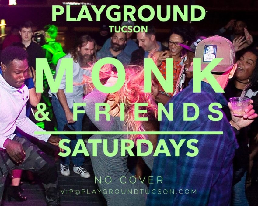 DJ MONK AND FRIENDS AT PLAYGROUND BAR AND LOUNGE
