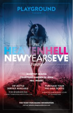 New Year's Eve: Heaven & Hell @ Playground Bar & Lounge
