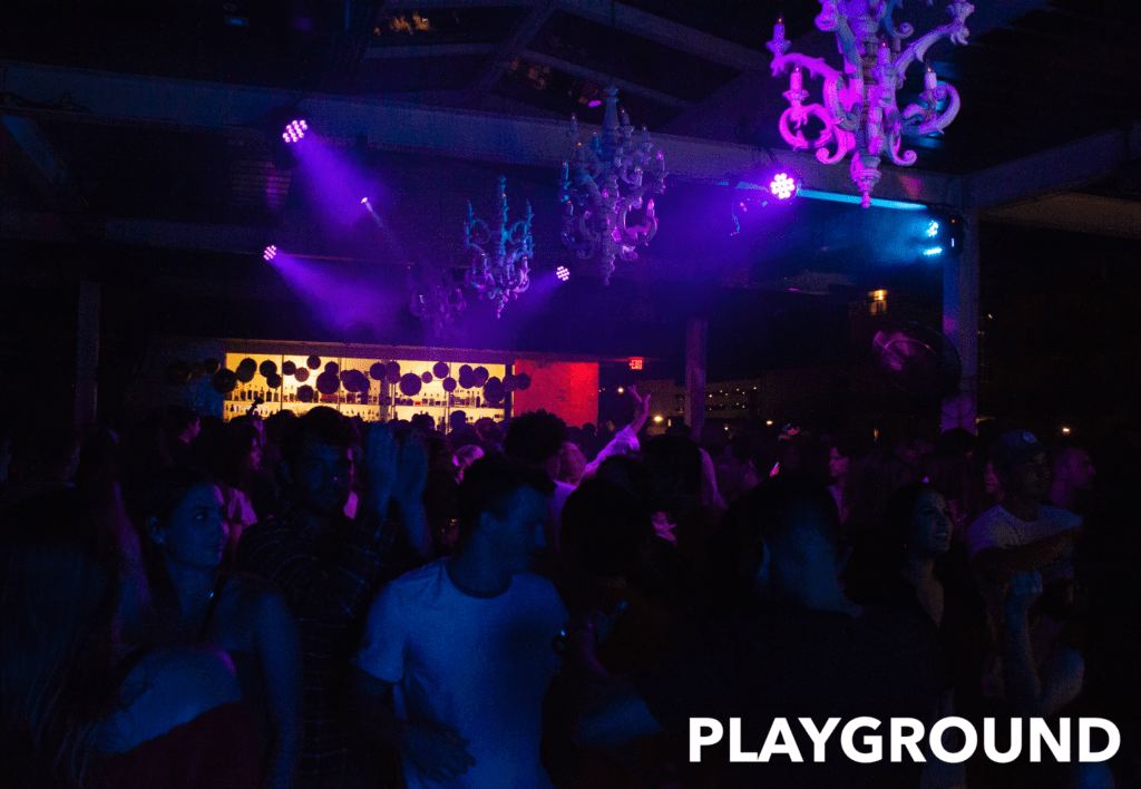 VIP BOTTLE SERVICE AT PLAYGROUND BAR AND LOUNGE