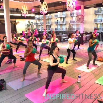 Rooftop Barre Yoga with Inspired Fitness