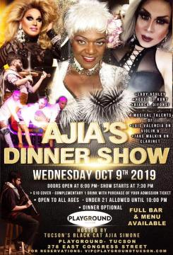 Ajia's Dinner Show