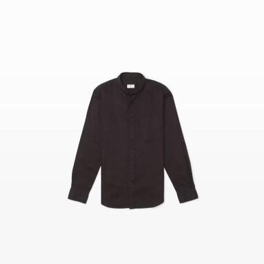 Linen Shirt in Black