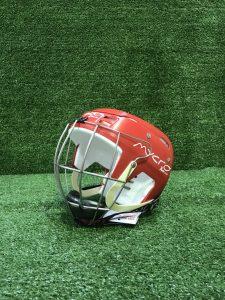 Hurling Helmet Mycro Plain Red Solid