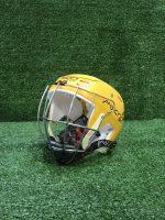 Hurling Helmet Mycro Plain Yellow Solid