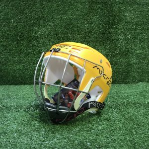 Hurling Helmet Mycro Plain Yellow Solid