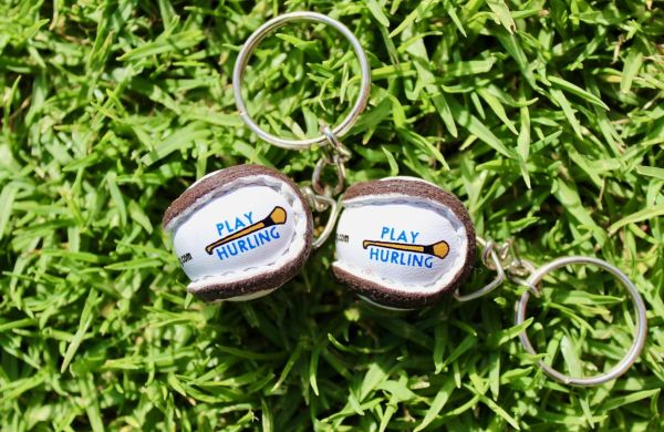 Play Hurling Sliotar Keyrings