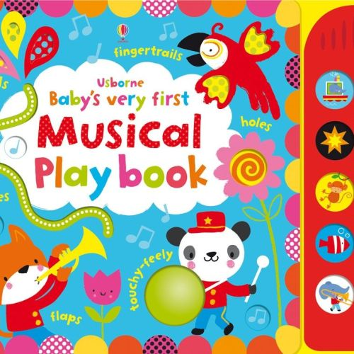 baby very first touchy feely musical playbook