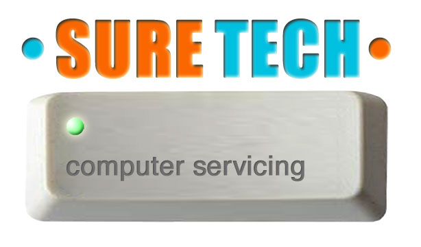 SURE TECH logo