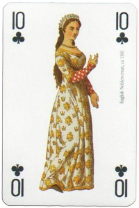 10 of clubs Modiano deck Middle Ages