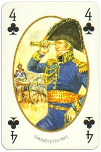 4 of clubs Face et Dos deck Empire by Carta Mundi