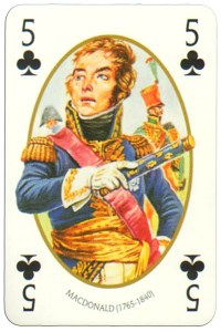 #PlayingCardsTop1000 – 5 of clubs Face et Dos deck Empire by Carta Mundi