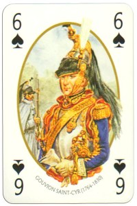 #PlayingCardsTop1000 – 6 of spades Face et Dos deck Empire by Carta Mundi