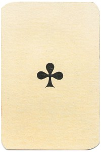 Ace of clubs Carte da gioco Genovesi