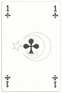 Ace of clubs Classic Belgian cards