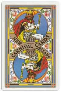 #PlayingCardsTop1000 – Back Carnival of New Orleans deck
