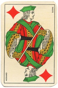 Jack of diamonds Carte da gioco Genovesi