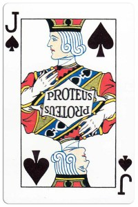 Jack of spades Carnival of New Orleans deck