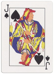 #PlayingCardsTop1000 – Jack of spades deck for indian casinos in the USA