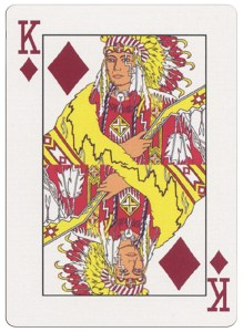 #PlayingCardsTop1000 – King of diamonds deck for indian casinos in the USA