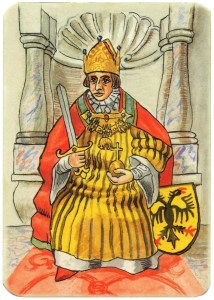 King of hearts Charta Bellica Hungarian cards