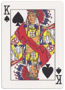 King of spades deck for indian casinos in the USA