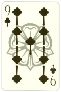 """Wars of roses playing card 9 of clubs<span class=""""rmp-archive-results""""><i class=""""star-highlight fa fa-star fa-fw""""></i><i class=""""star-highlight fa fa-star fa-fw""""></i><i class=""""star-highlight fa fa-star fa-fw""""></i><i class=""""star-highlight fa fa-star fa-fw""""></i><i class=""""fa fa-star fa-fw""""></i> <span>4 (1)</span></span>"""