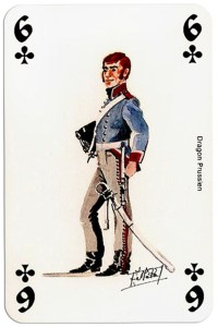 infantry 6 of clubs Deck Waterloo battle