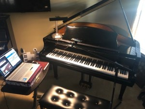 online piano lessons set up