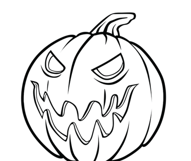 Halloween Pumpkin Coloring Page  Free Halloween Pumpkin