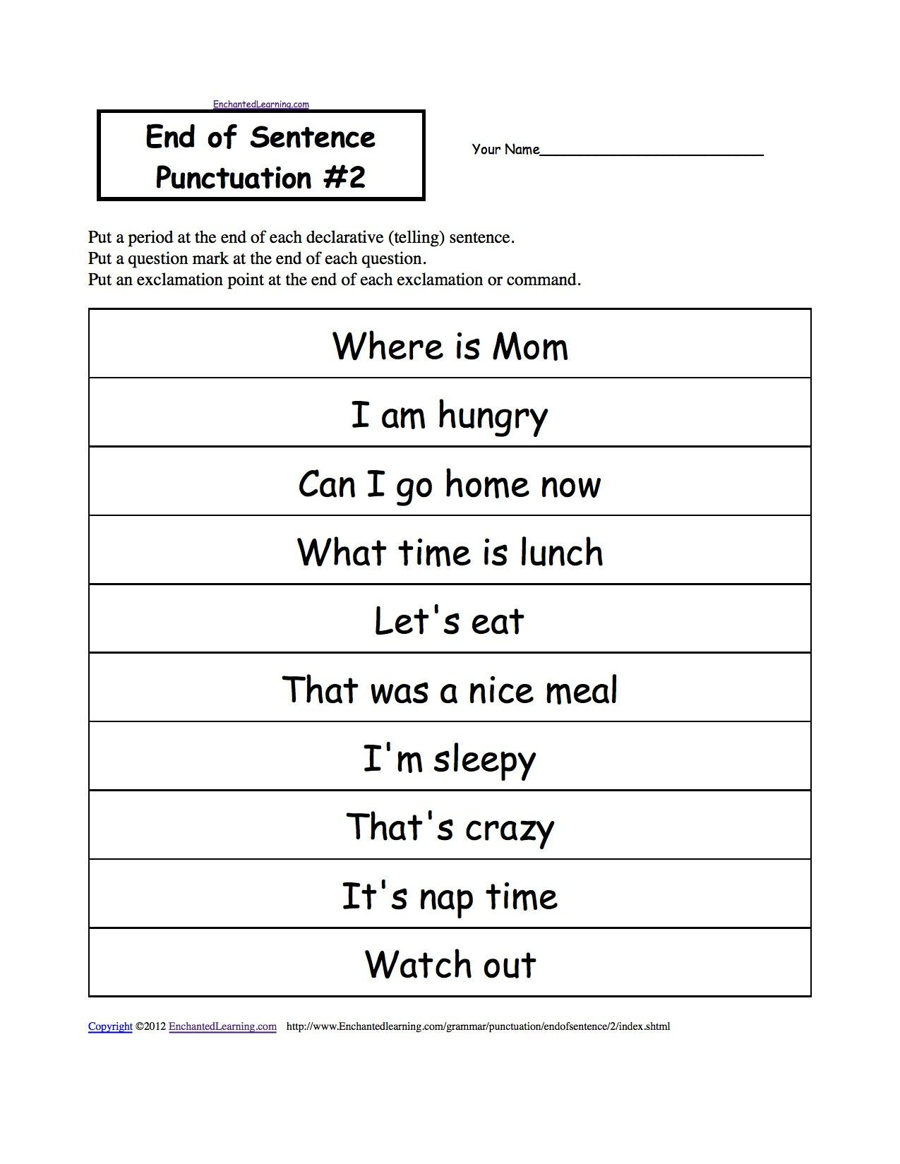Commas Worksheet 3rd Grade
