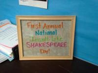 insult like shakespeare day